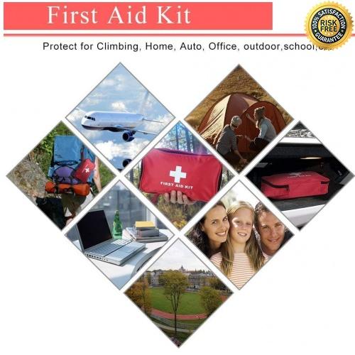 miniatura 6 - Kit di Primo Soccorso 180 Pezzi, Kit di Pronto Soccorso Compatto Professionale,